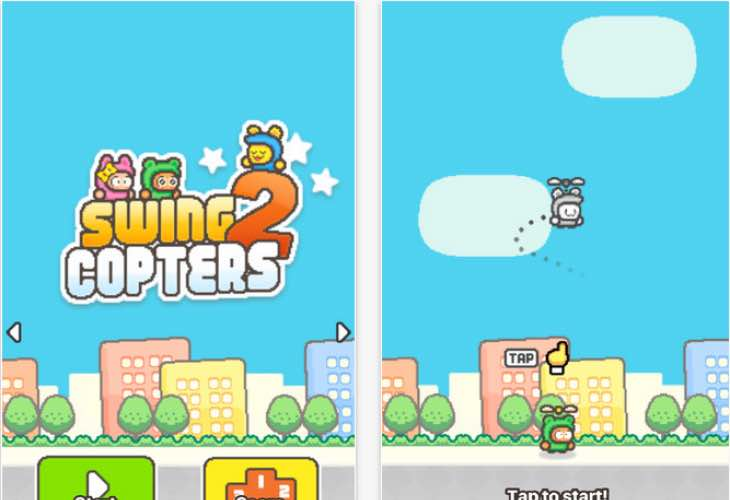 Swing Copters 2 reviews