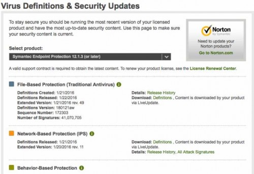 Symantec Endpoint Protection update 12 1 3 download and
