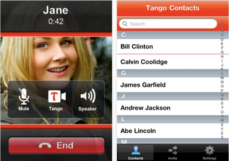 Tango app for iPhone gets Android