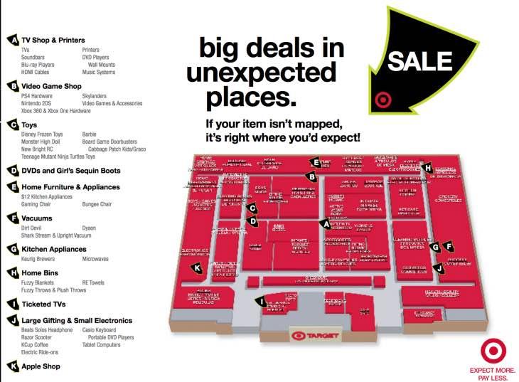 Target Store map locator