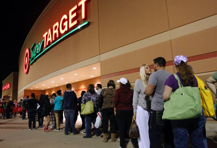 Target Thanksgiving hours for 2014