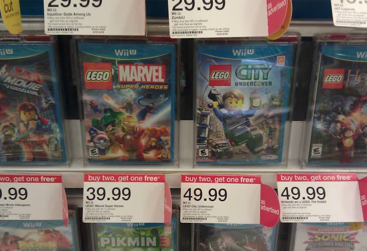 Target offering Nov games event with buy 2 get 1 free