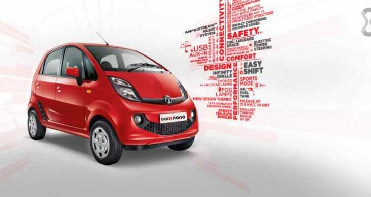 Tata GenX Nano car exchange, includes special bonus
