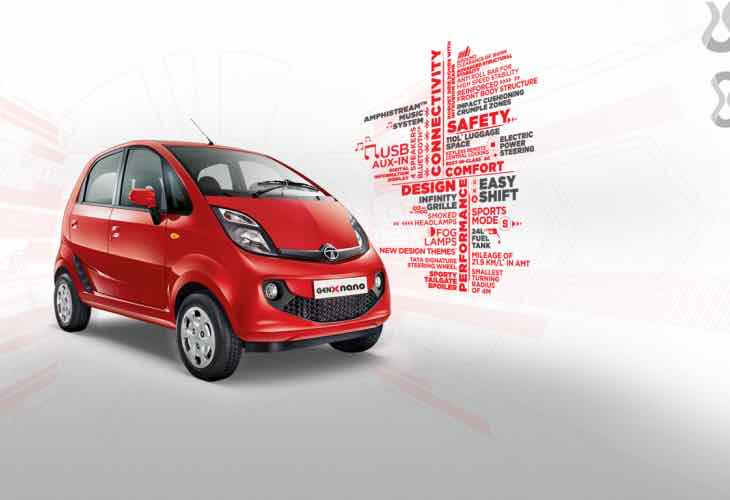 Tata GenX Nano car exchange