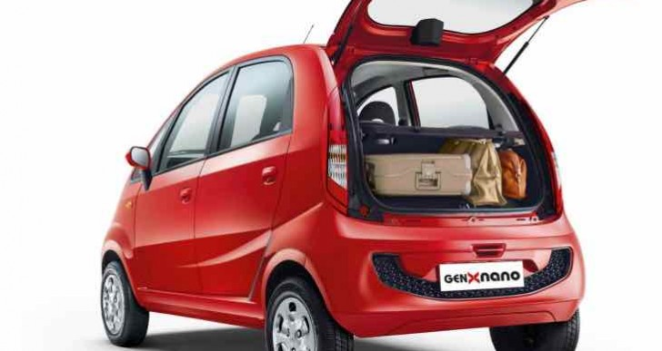 Tata GenX Nano options and accessories