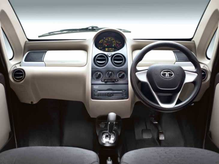 Tata Nano GenX interior