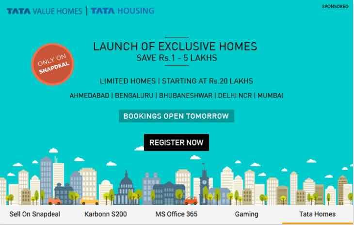 Tata value homes bookings