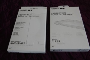 Tech21 iPhone 7 Impact Clear Case, Anti-Glare Shield Screen Protector review