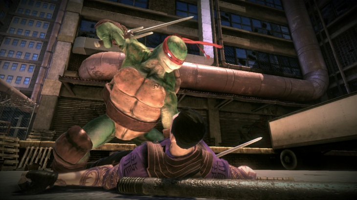 Teenage Mutant Ninja Turtles on PS3