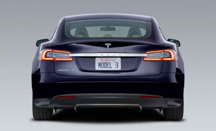 Tentative Tesla Model 3 unveil and production dates