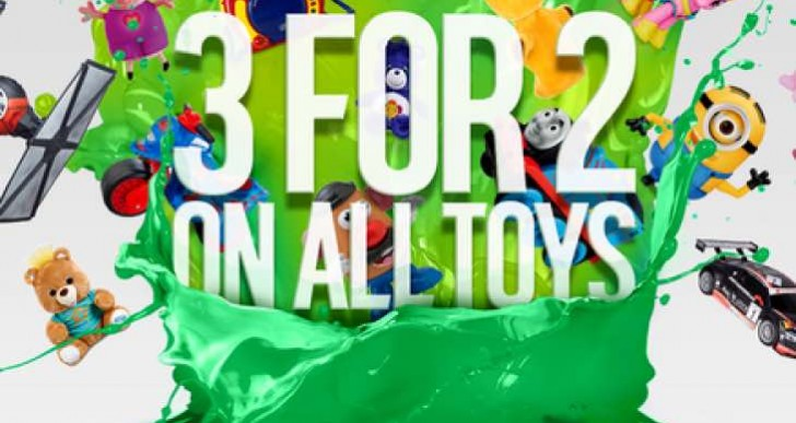 Tesco 3 for 2 on toys LIVE; event aims at Argos demand