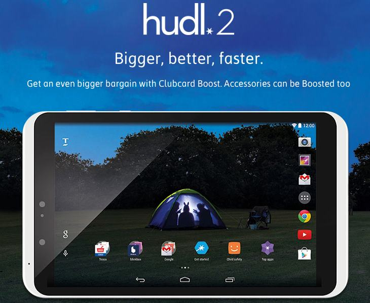 Tesco Hudl 2 price