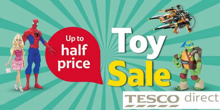Tesco Toy Sale for Christmas