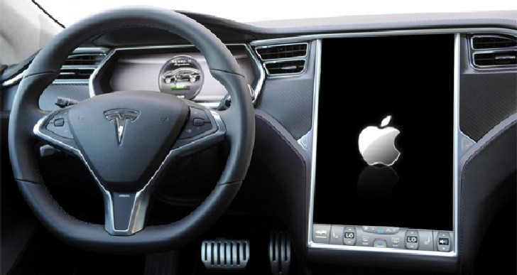 Apple interested in Tesla buyout?