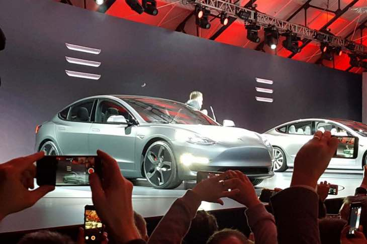 Tesla Model 3 cost to charge