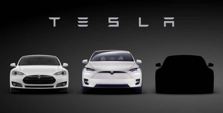 Tesla Model 3 design sort of revealed early