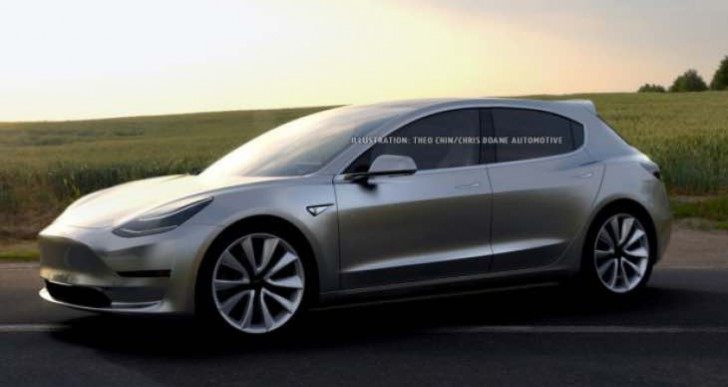 Tesla Model 3 hatchback for larger trunk variant not realistic