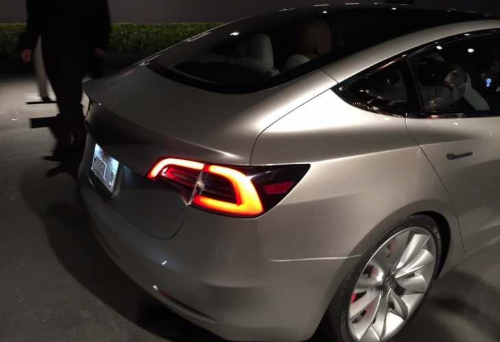 Tesla Model 3 release details