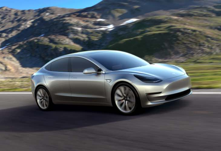 Tesla Model 3 technology