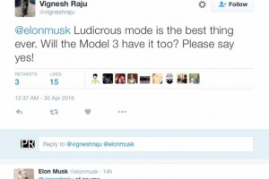 Tesla Model 3 Ludicrous Mode confirmed by Musk