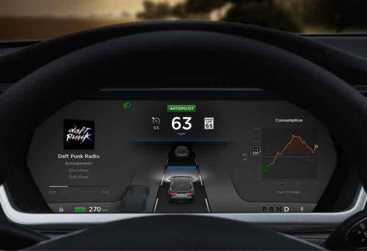 Tesla Model S Autopilot update
