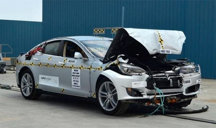 Tesla Model S is the safest car ever tested