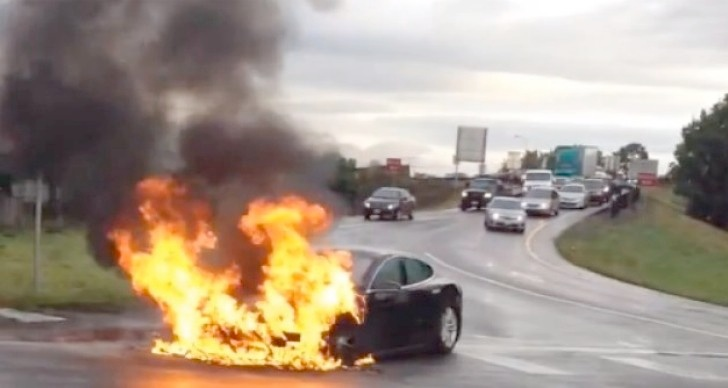 Fallout from the Tesla Model S fire rages on
