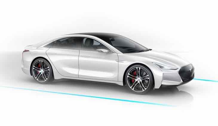 Tesla Model S clone