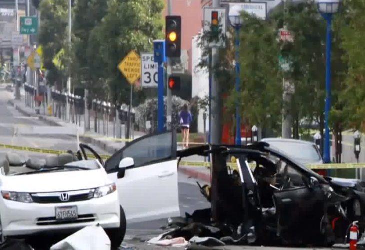 Tesla Model S crash hype outweighs GM recalls