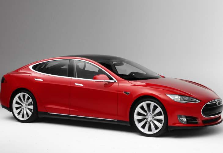 Tesla Model S software update 6.2 with new model