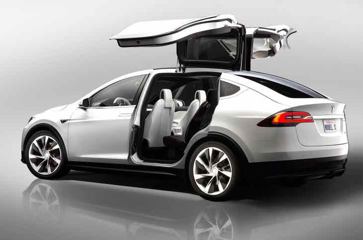 Tesla Model X battery swap details