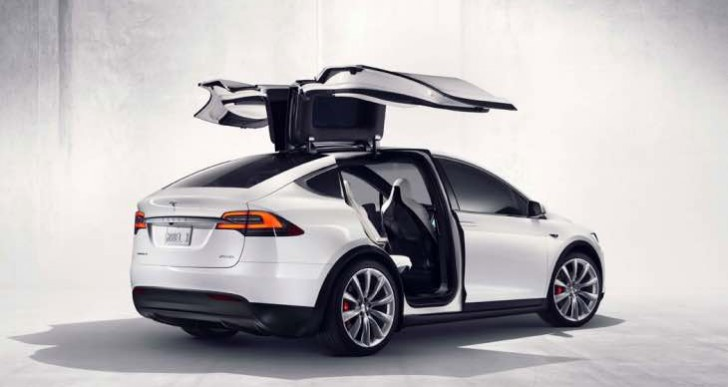 Tesla Model X configurator for options live in days