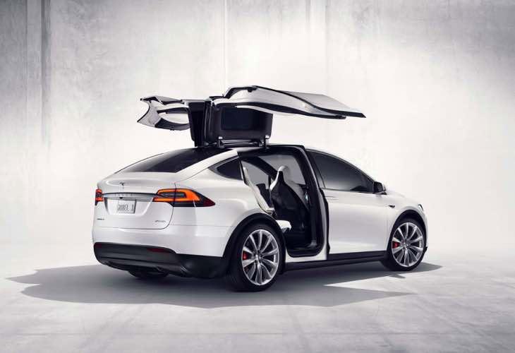 Tesla Model X configurator