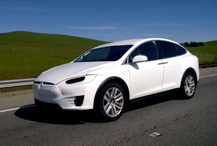 Tesla Model X new sighting