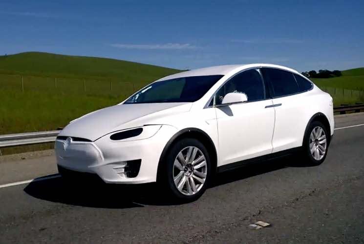 Tesla Model X new sighting