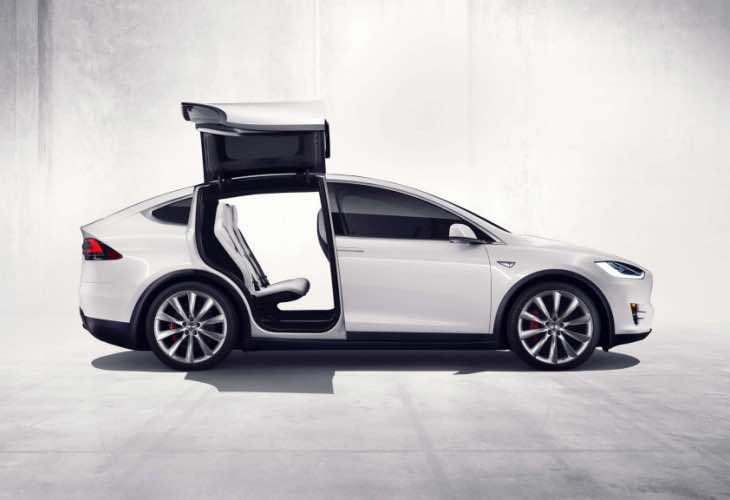 Tesla Model X options list