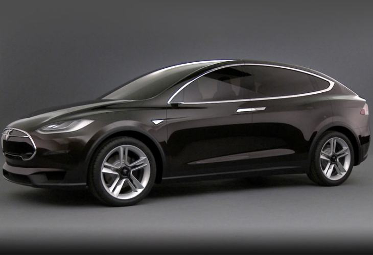 Tesla Model X performance vs. Model S P85D