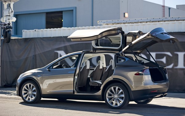 Tesla Model X price range similar to S
