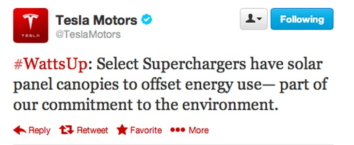 Tesla-Supercharger-tweet