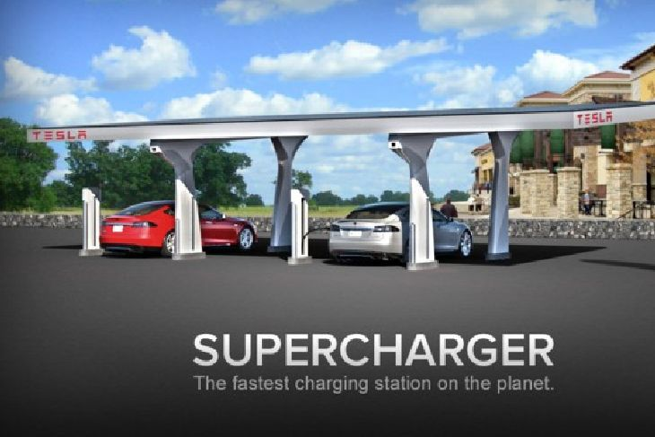 Tesla-Supercharger
