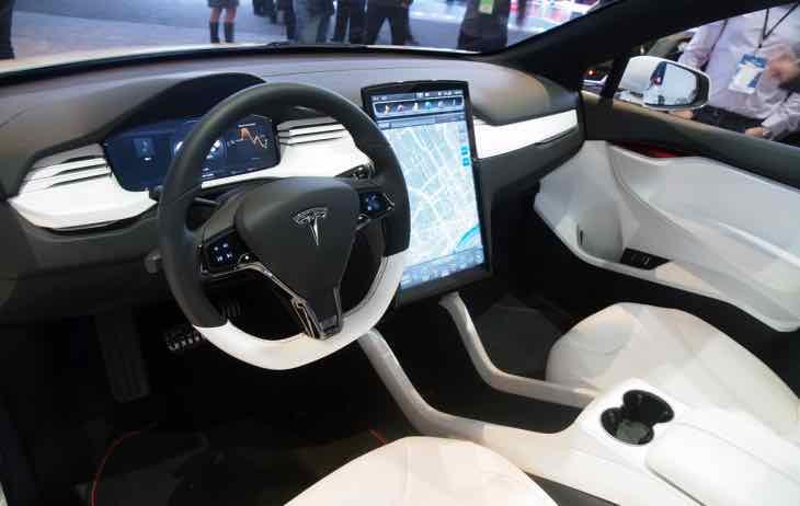 Teslas Model X security
