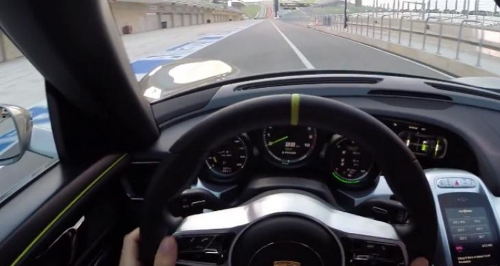 Testing Porsche 918 Spyder limits on CoTA
