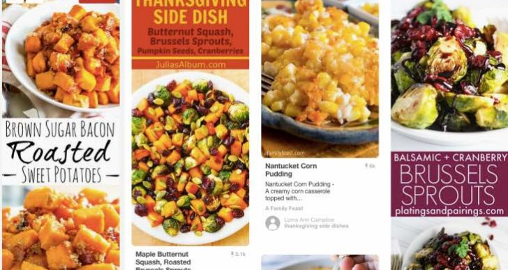 Pinterest for Thanksgiving Day 2016 turkey dinner ideas and recipes