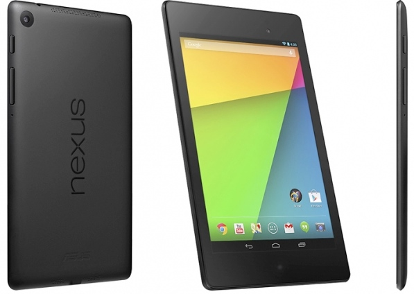 The 2013 Nexus 7 will compete with the iPad mini 2