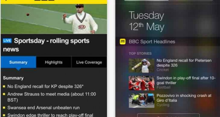 The Ashes 2015 TV coverage MIA on BBC Sport app