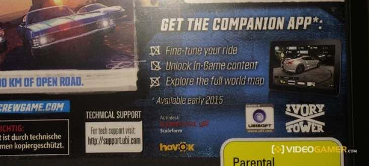 The Crew companion app release
