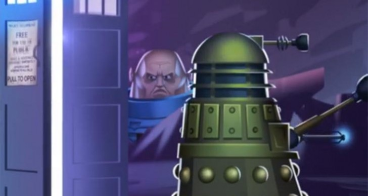 Doctor Who 12th doctor game by BBC with Daleks