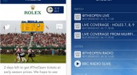 The Golf Open 2014 app for