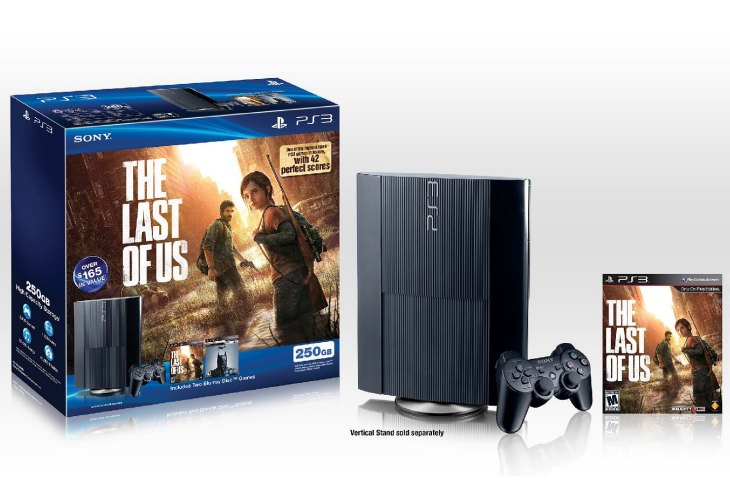 The Last Of Us, GTA V PS3 console bundle ideal after PS4
