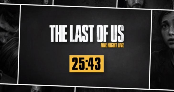 The Last of Us: One Night live stream